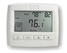 Azel Technologies Digital Non-Programmable Thermostat - For Radiant Floor Heating Systems with EEPROM - Sensor Included - D508F