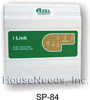 Azel SP-84 4 Zones. Azel Circulator Switching Relay. Azel Pump Relays. Hydronic Heating Systems Heating Zone Control