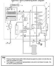 Biasi Riva Temperature Gauge for Riva Non-Condensing Boilers - RI BI1191121 Diagram