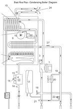Biasi Riva Flat Plate for Domestic Hot Water - for Riva Non-Condensing Boilers  - RI BI1001102