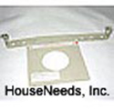 Ecotherm Gas Heater Wall Support Plate 120 - Drop ship from mfg - R553077 - Non-returnable