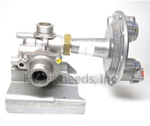 Bosch Aquastar 125HX Gas Valve NG - LOC 3675 - 8707011917 - Non-returnable Side View of Gas Valve