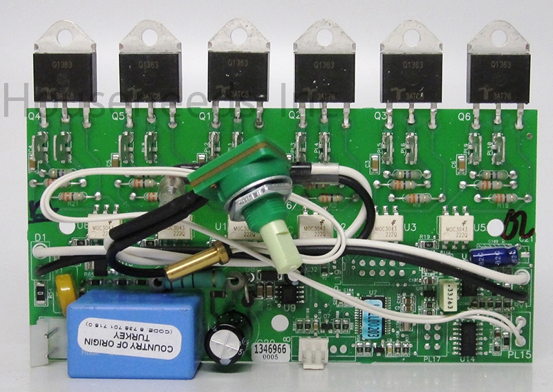 Powerstar Repair Parts Control Pcb Board 87387017150