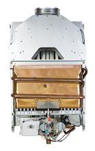 Bosch Propane Tankless Water Heater 520 HN LP with 117000 Btu cut-a-way view