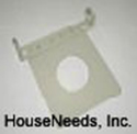 Ecotherm Gas Heater Wall Support Plate 112 - Drop Ship From Mfg - R553093 - Non-returnable