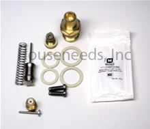 Bosch Water Valve Rebuild Kit 125FX with Brass Water Valve - LOC 6210 - WVKIT125FXBWV (8703406244 and 8708503063 and DOWLUBE and 8707402015 and 2 X 8710103043 and 2 X 8710103045 and 2 X 87034011650 - Non-returnable
