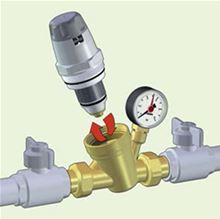 Caleffi Pressure Reducing Valve Replacement Cartridge 535006HA. Used for 1/2 3/4 and 1 inch 535H Valves