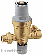 Caleffi Autofill Boiler Feed Valve - 1/2 inch SW inlet - 1/2 inch NPT Outlet - 553549A