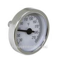 Caleffi Manifold Temperature Gauge - 2 inch Diameter - 210 F - 688003A