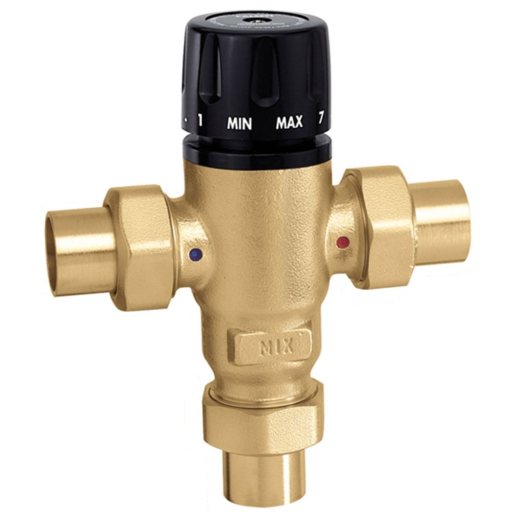Caleffi 3 Way 521509a Thermostatic Mixing Valve 3 4 Inch