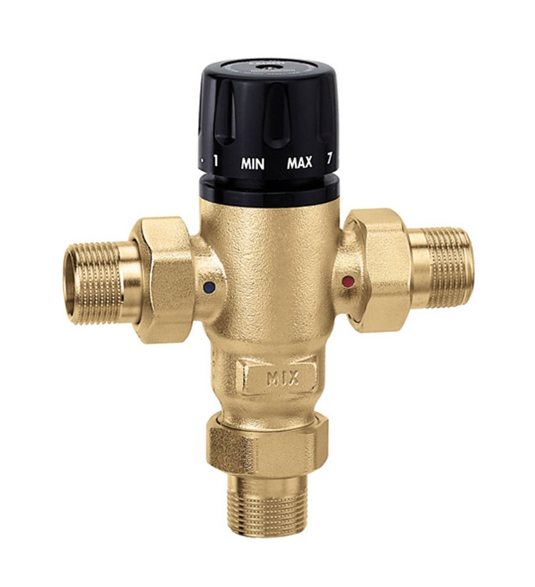 Caleffi 3 Way 521500a Thermostatic Mixing Valve 3 4 Inch