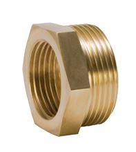 Caleffi Solar Bushing 3/4 inch Female Thread by 1 inch Male Thread - NA10089. Used for Caleffi Solar and Radiant Heating Products