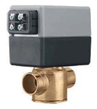 Caleffi Zone Valve Z55. Normally Closed 2-way 3/4 Zone Valves - Hydronic Heating Applications with Screw Terminal Block