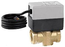 Caleffi Zone Valve Z45. Normally Closed 2-way 3/4 Zone Valves with lead wires - Hydronic Heating Applications