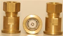 HeatGuard Mixing Valve 1/2 inch Copper Compression fitting w/check - 24052-0000