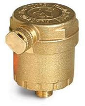 Cash Acme 1/8 inch Brass AV Series Air Vent - 24090