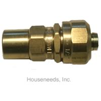 Buy Dahl 5/8 inch PEX Tubing by 3/4 inch copper adaptor - 120-14-CPX4