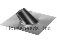 Duravent Galvanized 6 Inch B Vent - Steep Roof Flashing - 6GVFSR 0143S