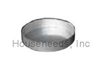 Duravent Galvanized 6 inch B Vent Tee Cap Pipe 6GVTC