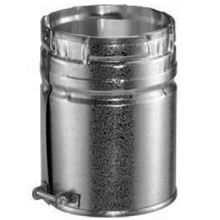 Duravent Galvanized 5 inch B Vent Male Adapter 5GVAM