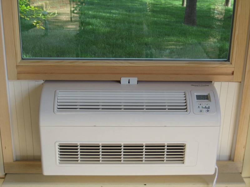 Eco Breeze Fresh Air Cooling Systems Window Unit