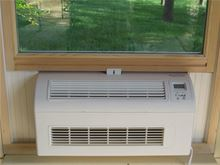 Eco-Breeze Fresh Air Cooling System - Window Unit - Eco-Breeze installed view from inside
