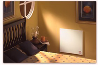 Econo Heater Electric Panel Room Wall Heater 400 Watts - 603 Installed in a Bedroom