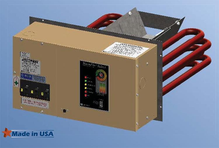 Electro industries Warmflo Plenum Heater 34,000 BTU - EM ...