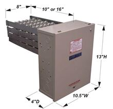 Electro Industries Air Strip Heater / Duct Heater with Warmflo Controlled Element Package - EM-WE2035C Dimensions