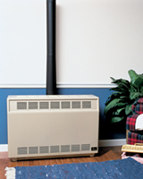 Empire Console Room Gas Heater Beige Natural Gas RH-35-NG