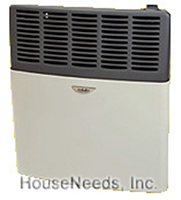 Eskabe Heater Direct Vent Propane Furnace Heater - Vented Propane Gas Wall Space Heater DVEL 20 LP