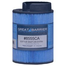 Softub Essentials - Great Barrier Microban Snap-On Extra Replacement Filter For Softub Spas Made between June 2000 and June 2009 - 8555