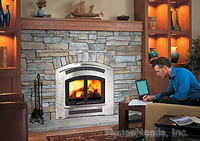 Regency Excalibur Wood Fireplace Excalibur Wood Burning