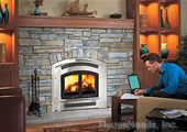 Excalibur EX90 Wood Fireplace and Accessories = v6904