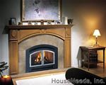 Excalibur P90 Medium Gas Fireplaces = v8431