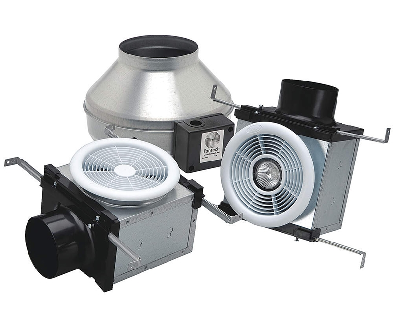Inline Exhaust Fan : Fantech pb l bath fan