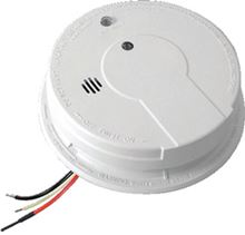 Firex Hush Smoke Alarm Photoelectric Technology and Hard Wired - 120 Volts AC/DC - P12040 - 21006371