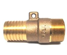 Brass Fitting 1 1/4 inch insert by 1 1/4 inch MIP - I13-028