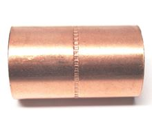 Copper Coupling 1 1/4 inch C by 1 1/4 inch C - C75-007
