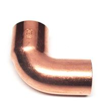 Copper 90 degree Street Elbow 1 inch FTG x 1 inch C - C75-382