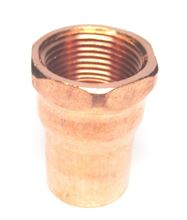 Copper Adapter 1/2 inch C x 1 inch FIP - C75-130