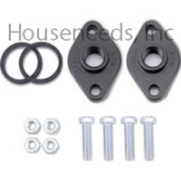 Grundfos 1 1/4 Inch Cast Iron Flange Set - 519603