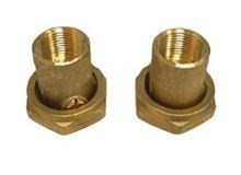 Grundfos 3/4 Bronze Threaded Isolation Valve Set