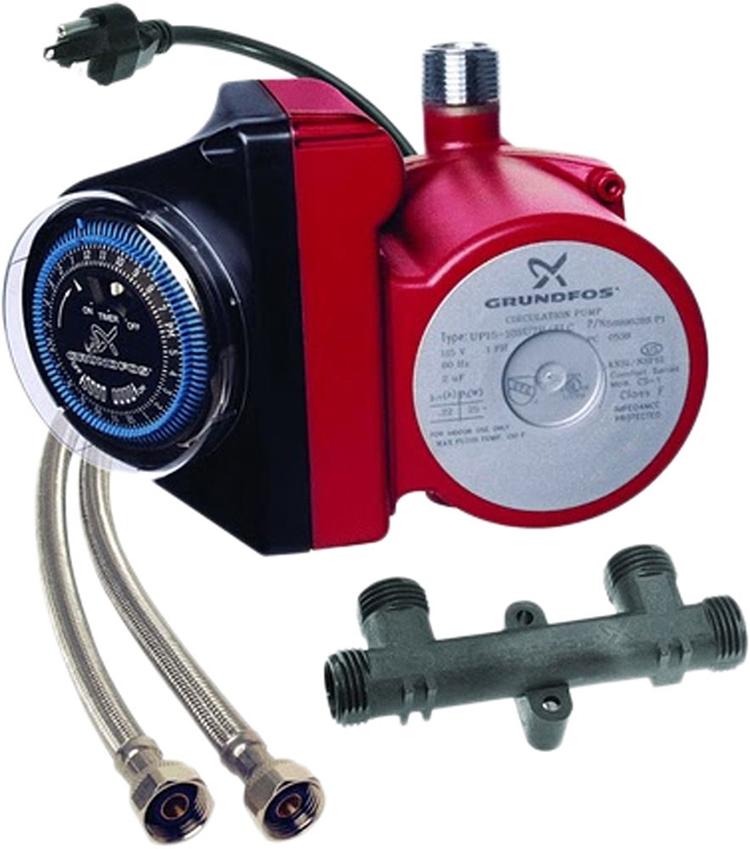 Grundfos Water Recirculator Up15 10su7 Tlc Whole House