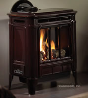 Hampton H27 Cast Iron Natural Gas Stove H275-NG