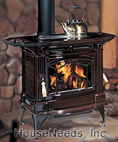 Hampton Large Cast Iron Wood Stove