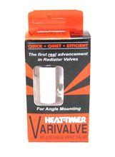 Heat-Timer Varivalve Angle Type Valve - 925005-00. Vari Valve Angle Steam Radiator Quick Vent