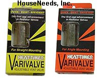 Heat-Timer Varivalve Straight Type Valve - 925006-00. Vari Valve Straight Steam Radiator Valve