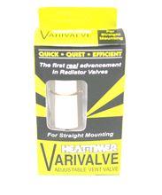 Heat-Timer Varivalve Straight Type Valve - 925006-00. Vari Valve Straight Steam Radiator Quick Vent