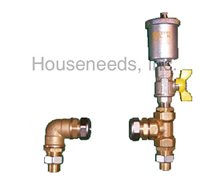 HHNS Solar Evacuated Tubes Manifold Connector Kit - Supply and Return for 3/4 inch Copper Sweat - HHNSMCSR34CS